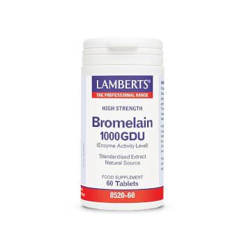 BROMELINA 1000GDU - LAMBERTS - Apoya la digestión