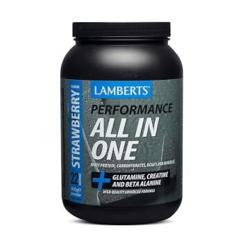 All-In-One fórmula de alta calidad con creatina, carbohidratos y proteínas.
