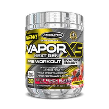 VaporX5 Next Gen aumenta la energía y el rendimiento del atleta.