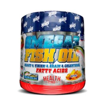 Omega 3 Fish Oil, complemento alimenticio a base de aceite de pescado.