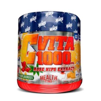 Vita C 1000mg tiene acción antioxidante a base de vitamina C, escaramujo y bioflavonoides.