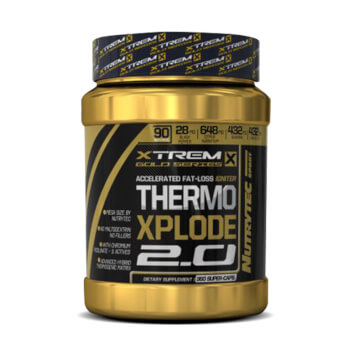 Thermo Xplode 2.0 es una poderosa fórmula termogénica.