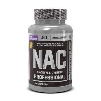 NAC N-Acetil L-Cisteína potencia la capacidad oxidativa.