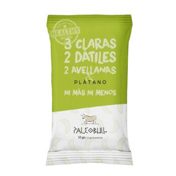 Paleobull Barrita de Plátano son 100% naturales sin gluten ni lactosa.