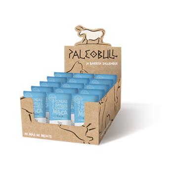 Paleobull Barritas de Coco y Maca son 100% naturales sin gluten ni lactosa.