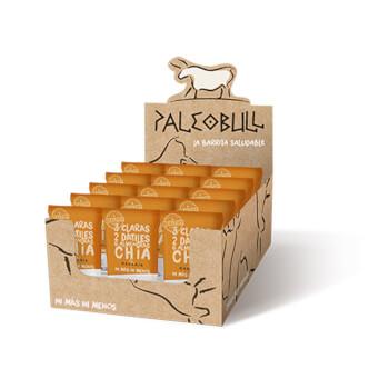 Paleobull Barrita de Naranja y Chía son 100% naturales sin gluten ni lactosa.