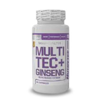 Multitec + Ginseng es un complejo multivitamínico pensado para deportistas.