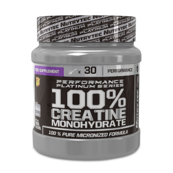 100% Creatina Monohidrato (Performance Platinum Series) favorece tu recuperación muscular.