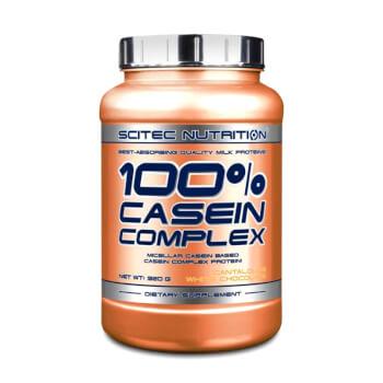 100% Casein Complex es una proteína de liberación lenta.