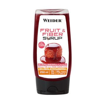 Endulza tus platos con el Sirope de Fruta y Fibra de Weider.