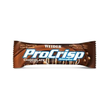 ProCrisp Whey Bar es una barrita proteica sin aceite de palma.
