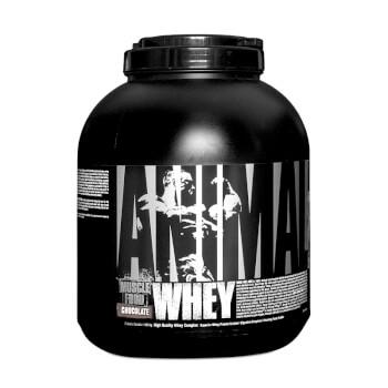 Animal Whey de Universal Nutrition tiene una alta pureza y fácil digestión.