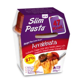 Slim Pasta Arrabbiata favorece la pérdida de peso.
