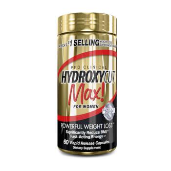 Hydroxycut Max For Women favorece la pérdida de peso.
