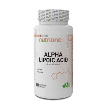 El Ácido Alfa Lipoico de Nutrione es un potente antioxidante.