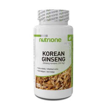 Korean Ginseng, ¡incrementa tu energía y vitalidad!