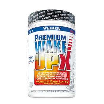 Premium Wake Up X contiene proteína, creatina y cafeína.