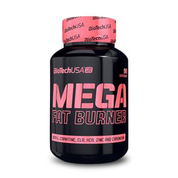 Mega Fat Burner favorece la pérdida de peso.