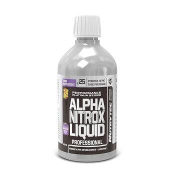 Alpha Nitrox Liquid (Performance Platinum Series) es un precursor del óxido nítrico.