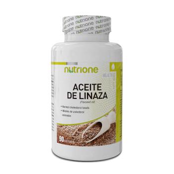 Aceite de Linaza te ayuda a controlar el colesterol.