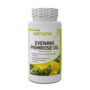 Aceite de Onagra, combate los signos del síndrome pre menstrual.