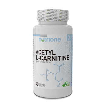 Acetil L-Carnitina 250mg  favorece la movilización de grasas.