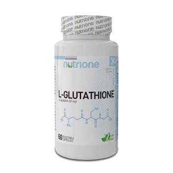 L-Glutatión 50mg de Nutrione ¡Antioxidante y desintoxicante!