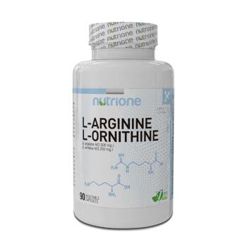 L-Arginina-Ornitina de Nutrione es precursor de óxido nítrico.