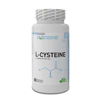 L-Cisteína 500mg de Nutrione optimiza la capacidad antioxidante.