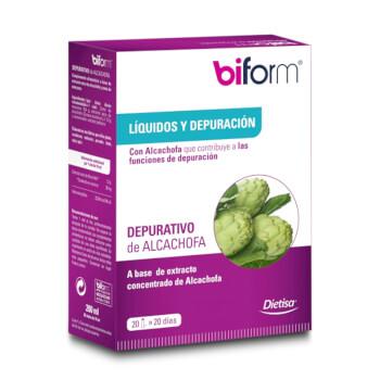 DEPURATIVO DE ALCACHOFA - BIFORM - Depura tu organismo