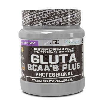 Gluta BCAA's Plus Professional (Performance Platinum Series) protege la masa muscular.