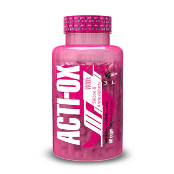 Acti-Ox el multivitamínico más completo diseñado para mujeres.