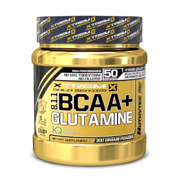 ¡Recupérate después de tus entrenamientos con BCAA 8:1:1 + Glutamina!