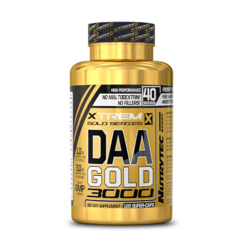 DAA Gold 3000 contribuye al aumento del volumen muscular.