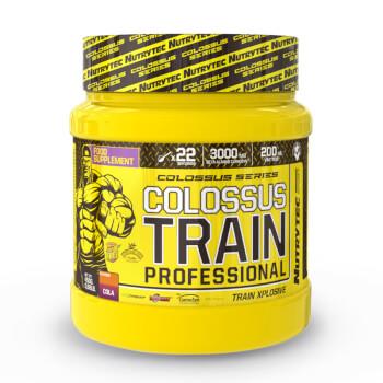Colossus Train Professional es un pre-entrenamiento formulado para rendir al máximo.