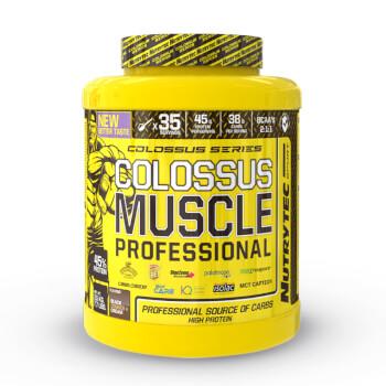Colossus Muscle Professional (Colossus Series) contribuye al aumento de masa muscular.