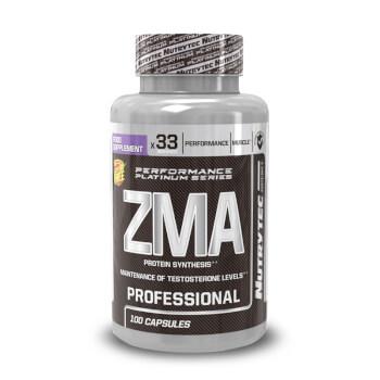 ZMA Professional está formulada a partir de zinc, magnesio y vitamina B6.