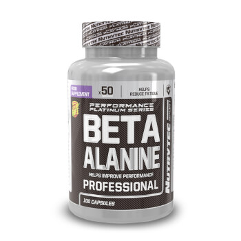 ¡Reduce la aparición de la fatiga con Beta Alanina de Nutrytec!