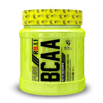 Pure BCAA R8.1.1 aumenta la resistencia y la recuperación muscular.