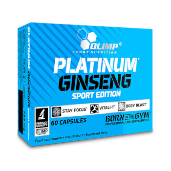 Platinum Ginseng Sport Edition de Olimp ayuda a mejorar los entrenamientos.