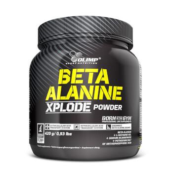 Beta-Alanina Xplode Powder de Olimp ayuda a disminuir el cansancio.