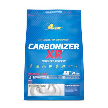 Carbonizer XR de Olimp aporta carbohidratos, vitaminas y minerales.