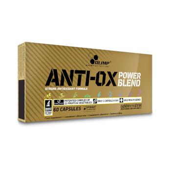 Antio-ox Power Blend de Olimp ayuda a disminuir el estrés oxidativo.