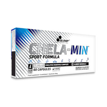 Chela-Min Sport Formula de Olimp contiene 10 minerales de fácil absorción.