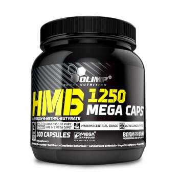 HMB 1250 Mega Caps de Olimp contribuye a la síntesis proteica.