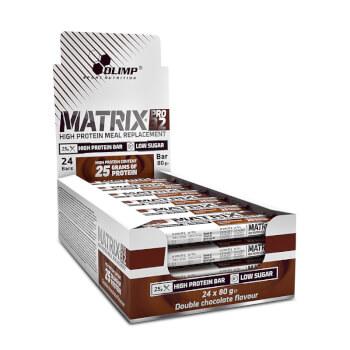 Matrix Pro 32 de Olimp contienen 26,2g de proteínas.