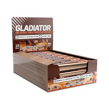 Gladiator Bar de Olimp contienen 21g de proteínas.