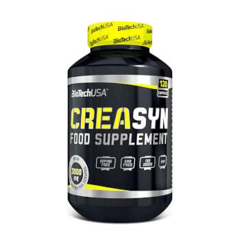 La CreaSyn está formulada a base de 2 tipos de creatina con ingredientes activos.