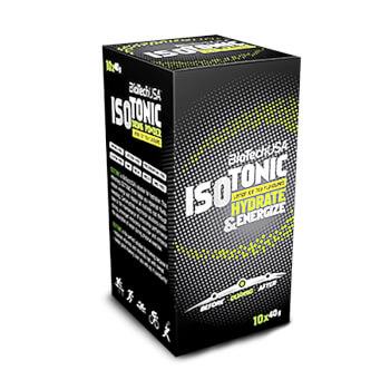 Isotonic de Biotech USA es una refrescante bebida isotónica.