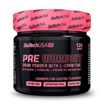 Pre Workout mejora el rendimiento proporcionando la energía necesaria.